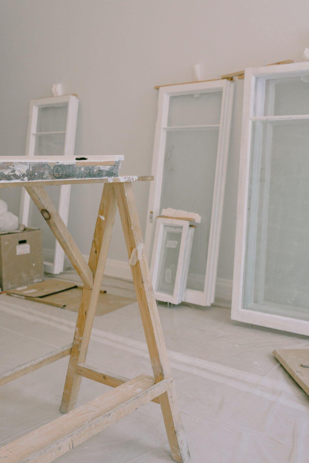 Aluminium windows ready to be installed Sigmadoors