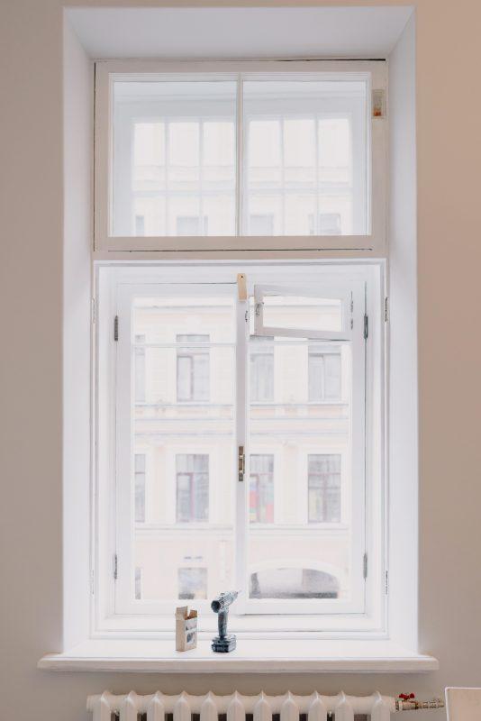 clad windows Installed window Sigmadoors