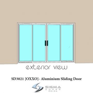Aluminium sliding doors oxxo patio doors for sale Sigmadoors South Africa