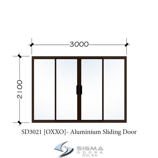 Aluminium sliding doors patio doors 4 panel sliding door price Sigmadoors