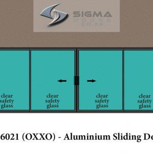 Double Slider aluminium doors prices aluminium sliding doors sizes Sigmadoors