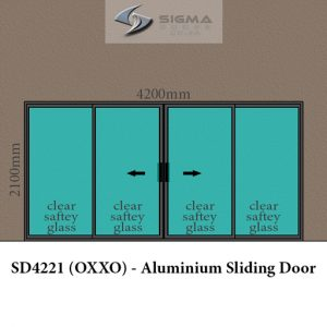 double slider aluminium sliding door prices cashbuild Sigmadoors