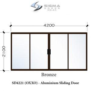 Bronze aluminium sliding doors for sale aluminium doors prices cashbuild builders South Africa Sigmadoors