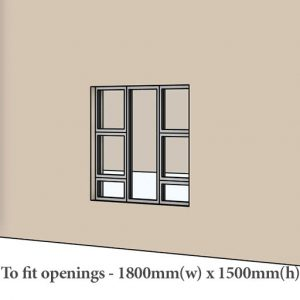 Aluminium windows with prices in Pretoria Sigmadoors