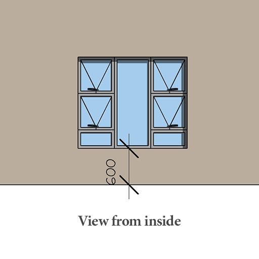 Aluminium casement windows with prices Sigmadoors