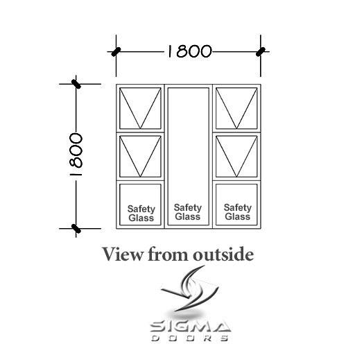 standard aluminium window catalogue Sigmadoors
