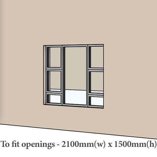 casement aluminium windows prices Sigmadoors