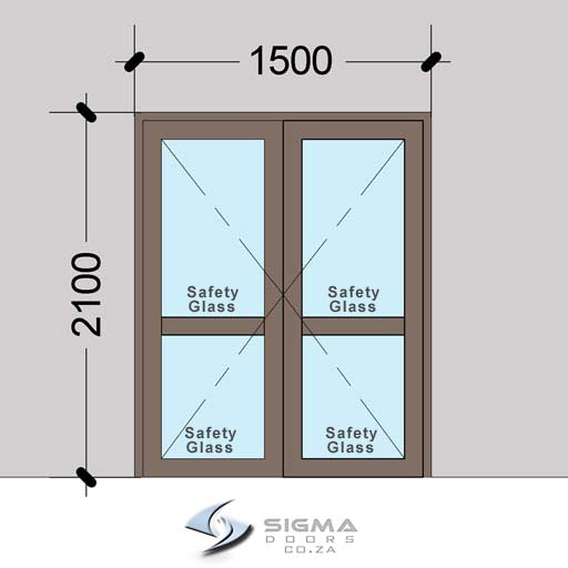 DHDM1521–Aluminium-Double-Hinged-Door-with-Midrails_–-Sigmadoors