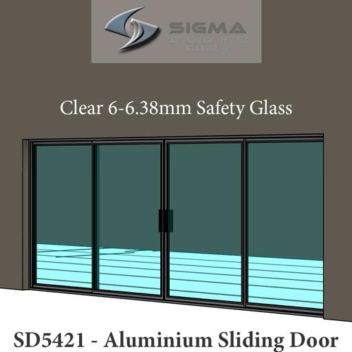 glazed aluminium sliding door manufacturer Sigmadoors