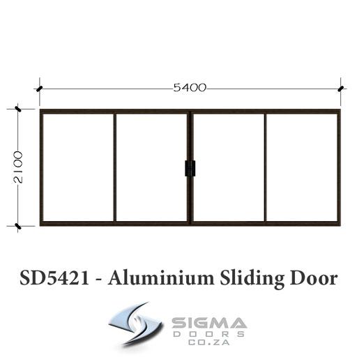 Bronze aluminium sliding door supplier order online Sigmadoors