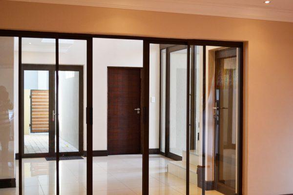 Aluminium sliding doors patio doors double slider glass door Sigmadoors