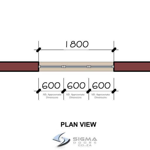 floor plan aluminium window sizes Sigmadoors