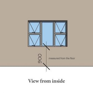 Aluminium window frames Cape Town Sash windows Sigmadoors
