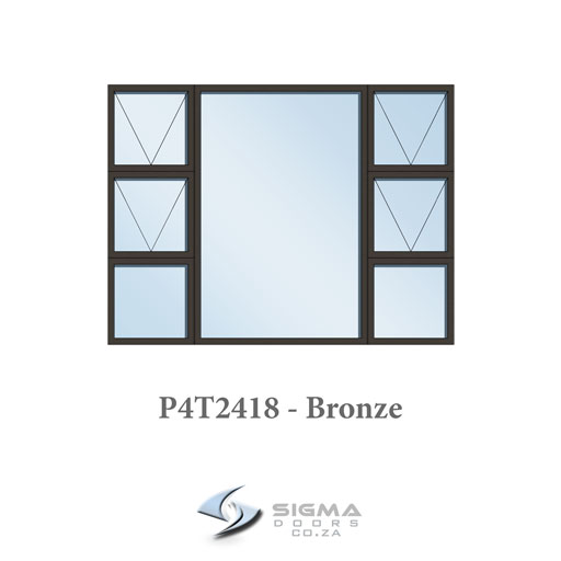 aluminium window prices size 2400 x 1800mm manufaturer aluminium windows South Africa