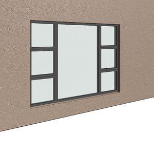 P4T2418 Aluminium window sizes SIgmadoors