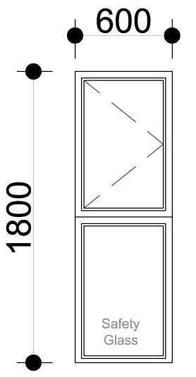 Aluminium Windows Side Hung Aluminium Windows