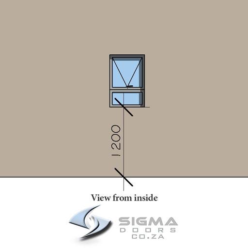 Aluminium window sash window awning windows Johannesburg Sigmadoors