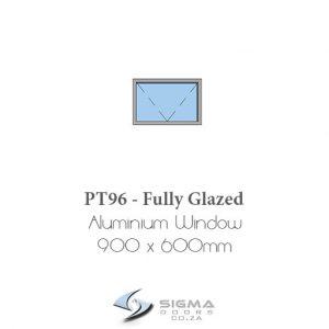 PT96 aluminium windows Sigmadoors