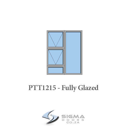 Aluminium glass window sash window Sigmadoors