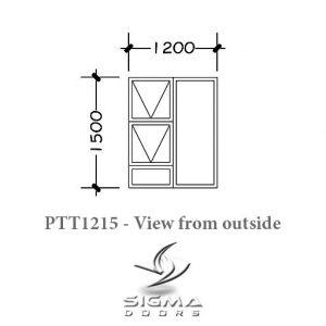 Aluminium window casement window South Africa Sigmadoors