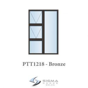 Aluminium windows for sale builders prices 1200 x 1800 PTT1218 Sigmadoors