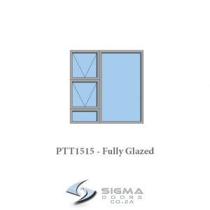 PTT1515 Aluminium window for sale Sigmadoors