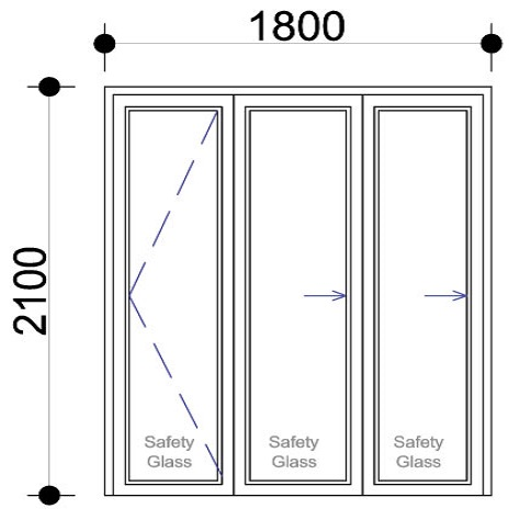 Aluminium sliding folding door, Sigmadoors Panel Aluminium Vistafold Folding Doors, patio doors, bi-fold doors, sigmadoors, johannesburg, South Africa