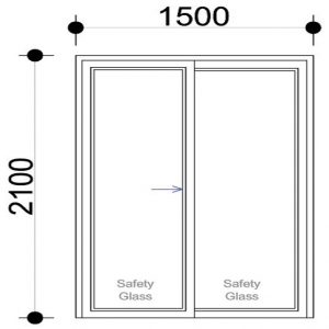 Sigmadoors Sliding Aluminium Door Sliding Patio Door