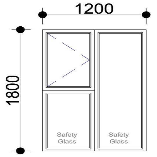 Sigmadoors.Aluminium Windows-Casement windows_PS1218