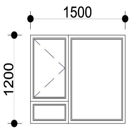 Sigmadoors.Aluminium Windows-Casement windows_PS1512