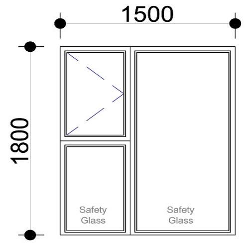 Sigmadoors.Aluminium Windows-Casement windows_PS1518