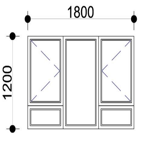 Sigmadoors.Aluminium Windows-Casement windows_PSS1812