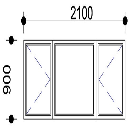 Sigmadoors.Aluminium Windows-Casement windows_PSS219