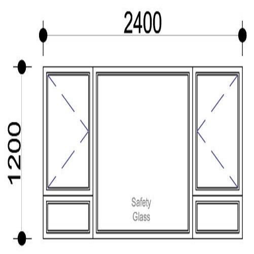 Sigmadoors.Aluminium Windows-Casement windows_PSS2412