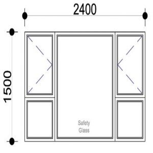 Sigmadoors Aluminium Side Hung Window replacement windows aluminium window frame window frame aluminium windows prices aluminium window aluminium window installation standard aluminium window sizes