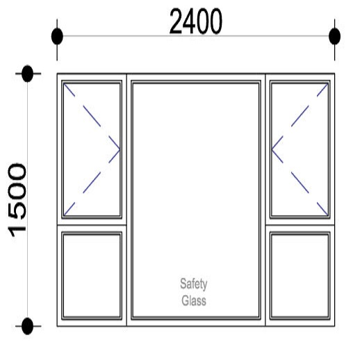 Sigmadoors.Aluminium Windows-Casement windows_PSS2415
