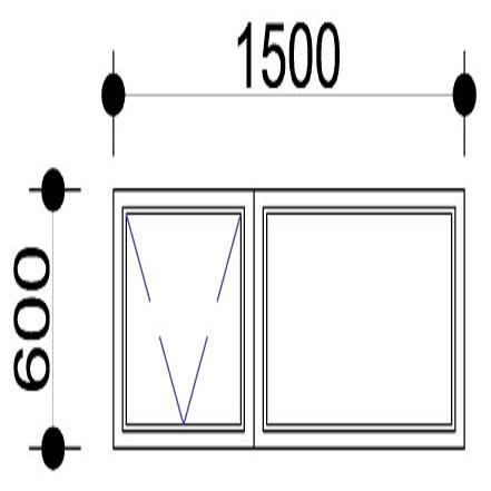 Sigmadoors.Aluminium Windows-Casement windows_PT156