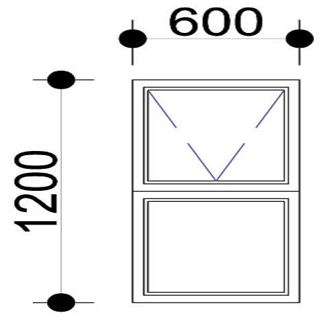 Sigmadoors.Aluminium Windows-Casement windows_PT612