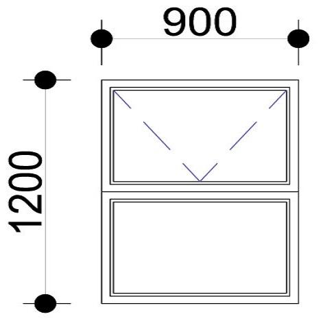 Sigmadoors.Aluminium Windows-Casement windows_PT912