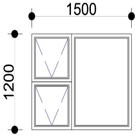Sigmadoors.Aluminium Windows-Casement windows_PTT1512