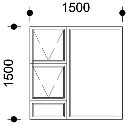 Sigmadoors.Aluminium Windows-Casement windows_PTT1515