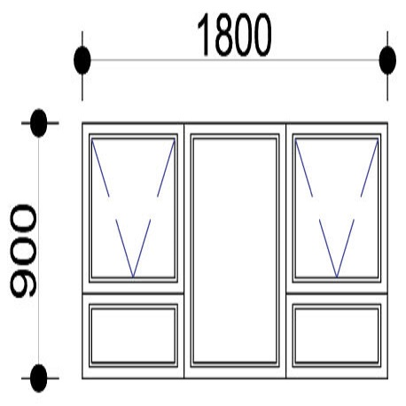 Sigmadoors.Aluminium Windows-Casement windows_PTT189
