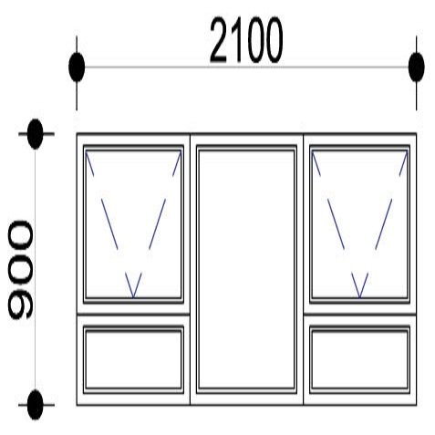 Sigmadoors.Aluminium Windows-Casement windows_PTT219