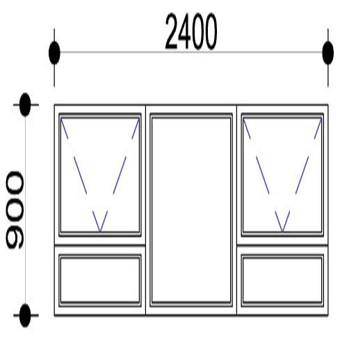 Sigmadoors.Aluminium Windows-Casement windows_PTT249