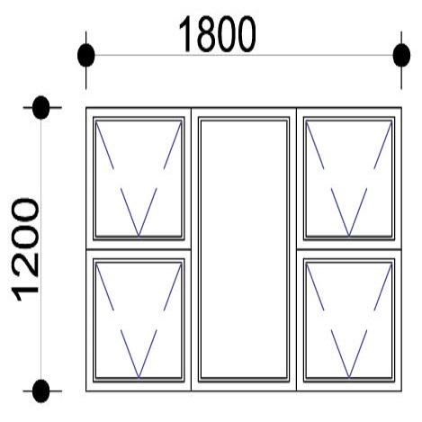 Sigmadoors.Aluminium Windows-Casement windows_PTTTT1812