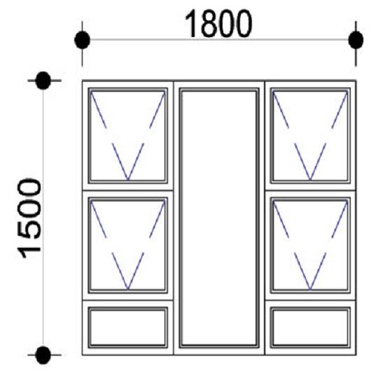aluminium windows prices_Sigmadoors_Aluminium Windows-Casement windows_PTTTT1815