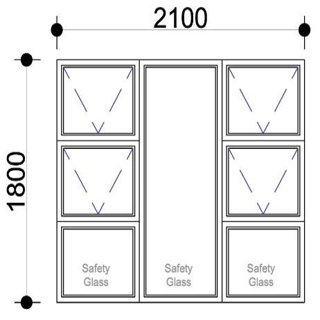 Sigmadoors.Aluminium Windows-Casement windows_PTTTT2118
