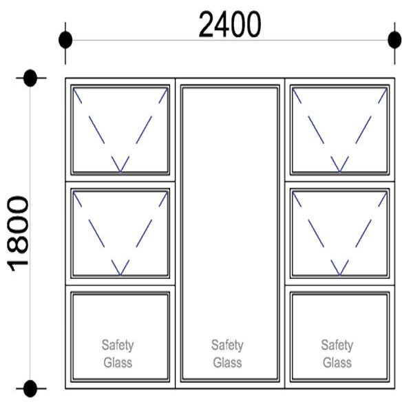 Sigmadoors.Aluminium Windows-Casement windows_PTTTT2418