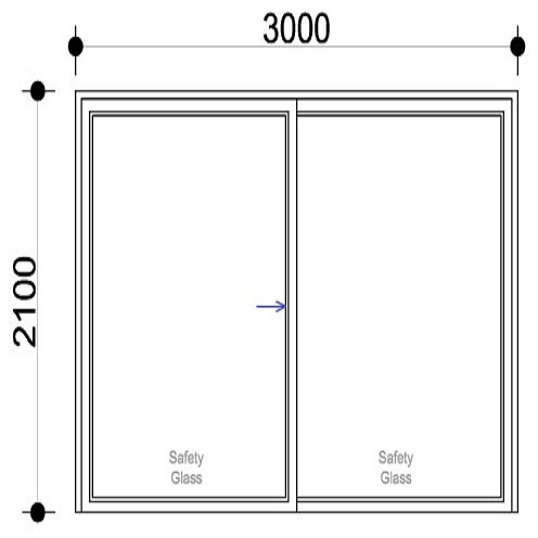 Sigmadoors.Aluminium Windows-Casement windows_SD3021-X