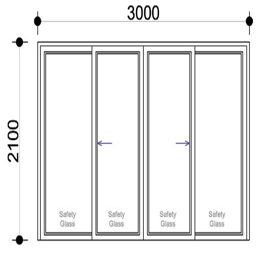 Sigmadoors.Aluminium Windows-Casement windows_SD3021-XX
